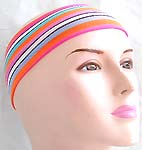 Assorted color stretch knit headwrap