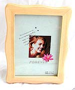 Fashion mini wave pattern smooth finishing wooden picture frame