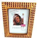 Fashion slope stand plastic carved pattern picture frame