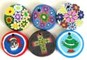Assorted color and design fashion fimo pendant, randomly pick by our staffs