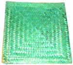 Green retan mat set, set of 2 pieces