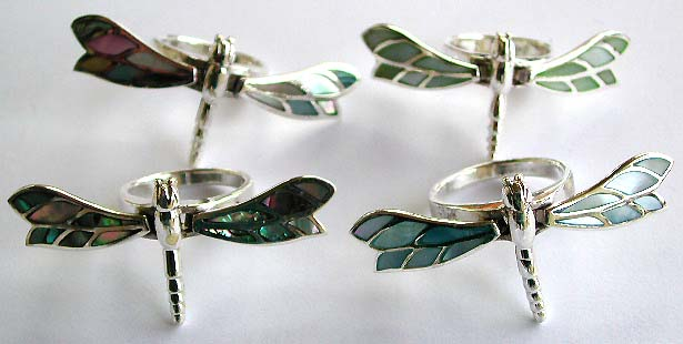 Dragonfly jewelry, wholesale dragonfly ring jewellery gift.