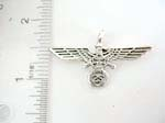 925.sterling silver flying eagle pendant