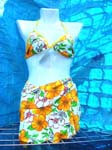 Summer scene binkini set, swim suits in variety design and color